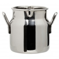 Stainless steel mini milk churn 70 ml