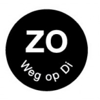 Permanent sticker 'zo weg op di' 19 mm 1000/roll