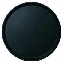 Cambro  round tray anti-slip black 40,5 cm