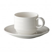 Concentric saucer stackable 14,5 cm