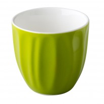 Stackable coffee cup without handle green 180 ml