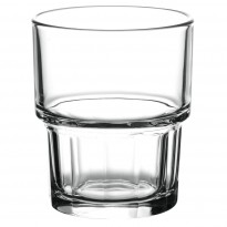 Stackable glass banqueting 165 ml