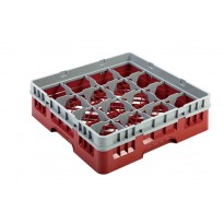 Rack red 16 compartments
