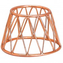 Display stand basket red 15 x 10 x 10 cm