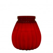 65-hours terrace candle plastic red