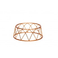 Display stand basket red 25 x 12 x 10 cm