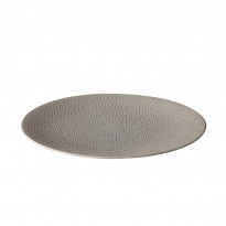 Coupe plate Honeycomb Grey 27,5 cm