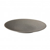 Coupe plate Honeycomb Grey 21 cm