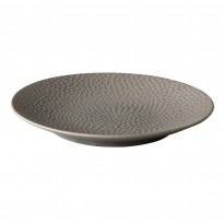 Coupe plate Honeycomb Grey 16 cm