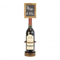 Bottle chalk board display 11 x 45 cm