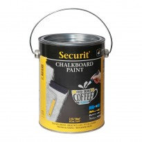 Chalkboard paint black 2,5L.