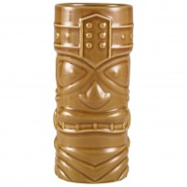 Brown Tiki mug 400 ml