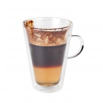 Double-walled macchiato/tea glass 280ml