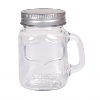 Mason Jar with lid 280 ml