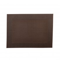 Placemat brown 45x33 cm
