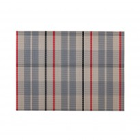 Placemat checkered 45x33 cm