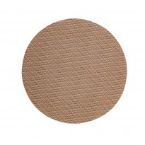 Placemat round silver/copper 38 cm