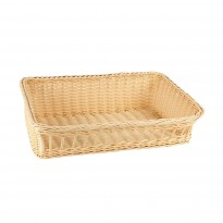 Buffet basket 48x31x14,5 cm yellow
