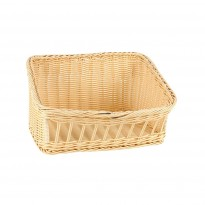 Buffet basket 32x25x18 cm yellow