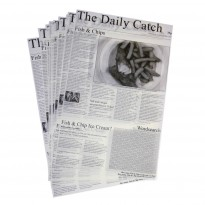 Greaseproof paper 'Daily Catch' 25,5 x 40,5 cm 500pcs
