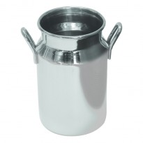 Stainless steel mini milk churn 140 ml