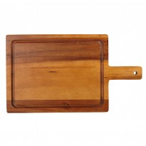 Acacia large handled board 40 x 23 cm
