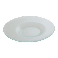 Glass plate 30,5cm eclips