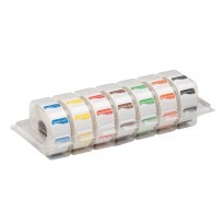 Disp. easy removable stickers 25 mm 7x1000/carton