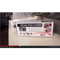 Video Daymark Steam Pan Liners
