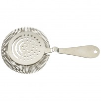 Cocktail julep strainer silver