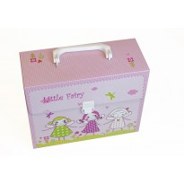 Kidset 3-pieces in suitcase pink