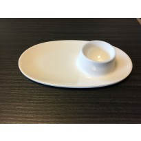 Egg cup saucer 15 x 8,7 cm